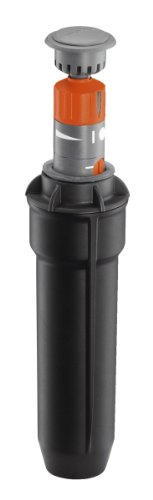 Gardena sprinklersysteem Turbine T100 verzonken sproeier (tot 100 m²). zwart