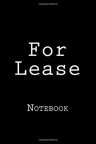 For Lease: Notebook