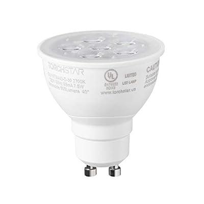 1-PACK/6-PACK 7.5W Dimmable GU10 LED Light Bulb,Soft White 2700K/Daylight 5000K