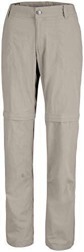 Columbia Silver Ridge 2.0 Pantalones de Senderismo Convertibles para Mujer, Beige (Tusk), 2/R
