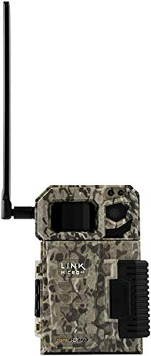 SPYPOINT Link-Micro-V Cellular MMS Infrared Trail Camera, 4G/LTE (VERIZON), 10MP HD Video with Free 16GB SD Card and 2 Year Warranty