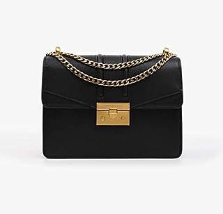 Charles & Keith wine bag ck2-20680639 retro chain lock Single Shoulder Messenger Bag