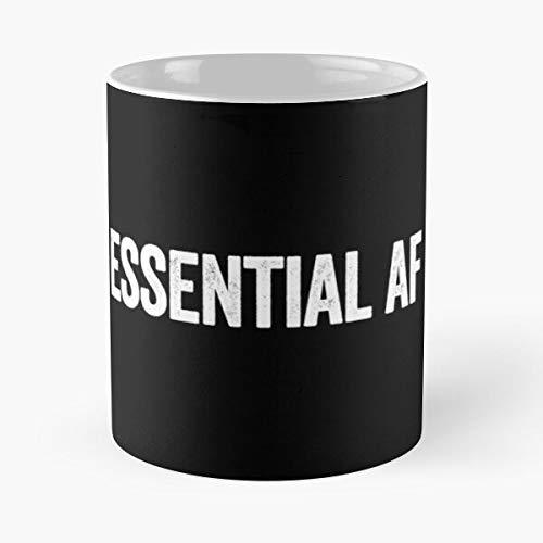 Essential Af Classic Mug - Coffee 11oz -unique Gift Idea For Him Or Her- Perfect Birthday Gifts Gantzobtu