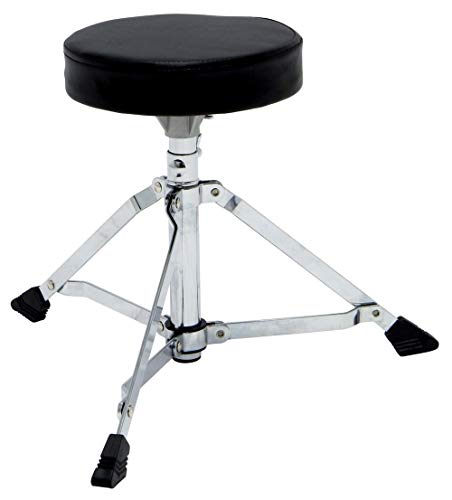 GEWA pure Schlagzeughocker Junior runder Sitz, höhenverstellbar, einstrebig
