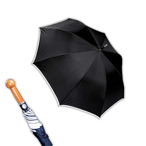 Sicherheitsschirm mit gratis Videokurs | Security Schirm | Regenschirm zur Abwehr | Unbreakable Umbrella | Self Defense Verteidigungsschirm