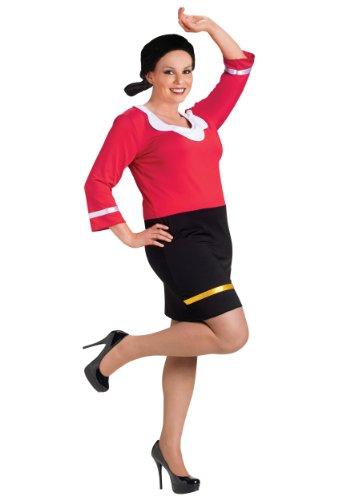 Olive Oyl Plus Size Adult Costume - Plus Size 1X/2X