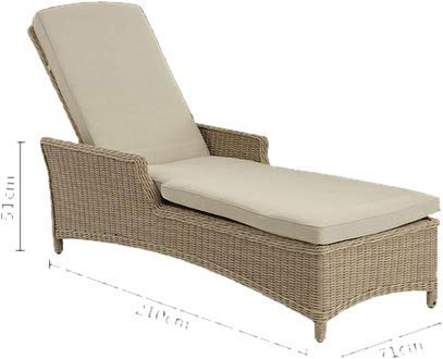 Sol 72 Outdoor Elegant Rysing Reclining Stylish Sun Lounger with Cushion and Table