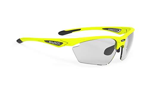 Rudy Project Occhiali da Sole STRATOFLY SP 23 Yellow Fluo Gloss/IMPACTX® PHOTOCROMIC Uomo