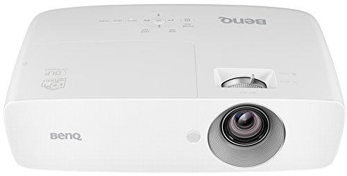 """BenQ W1090 Proyector 1080P (modo Deporte, pantalla grande de 100"""" en tan solo 2,5m, altavoz incorporado de 10W, 2000 lúmenes, DLP)"""