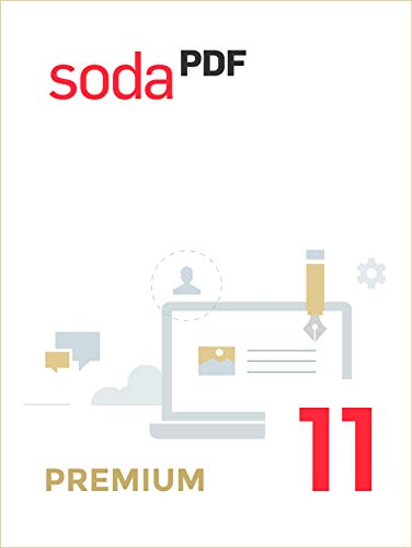 Soda PDF 11 | Premium | 1 Gerät | PC | PC Aktivierungscode per Email