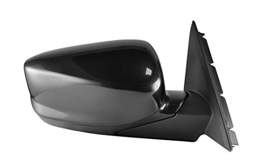 Passenger Side View Mirror - Unpainted, Heated, Power Operated, Manual Folding, Side View Mirror for 2008-2012 Honda Accord - Parts Link #: HO1321231