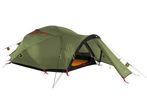 Wechsel Tents Precursor 4 Personen Geodät - Unlimited Line - Winter Expeditions Zelt, Grün
