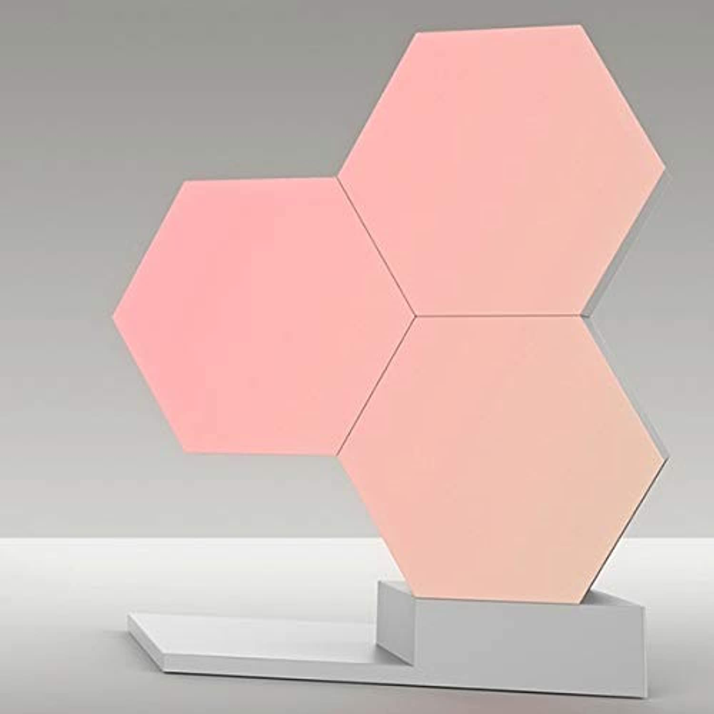 BEITAI Lifesmart 5 Stücke DIY Quantum Lichter Kreative Geometrie Montage LED Nachtlicht Smart APP Control Für Google Home Amazon Alexa Lampe (Emitting Farbe   3pcs combo sets)