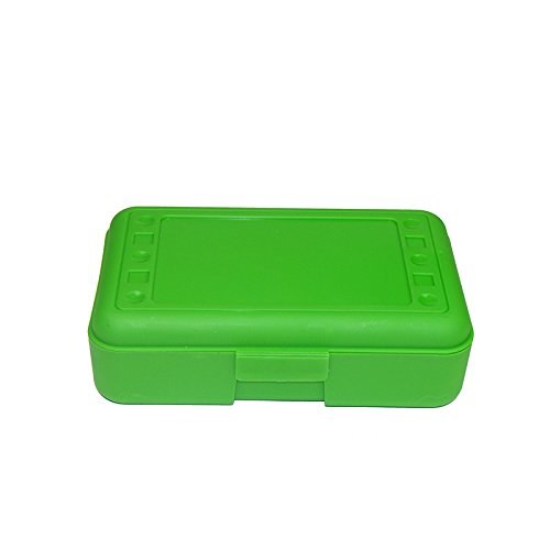 ROMANOFF PRODUCTS PENCIL BOX LIME OPAQUE (Set of 3)