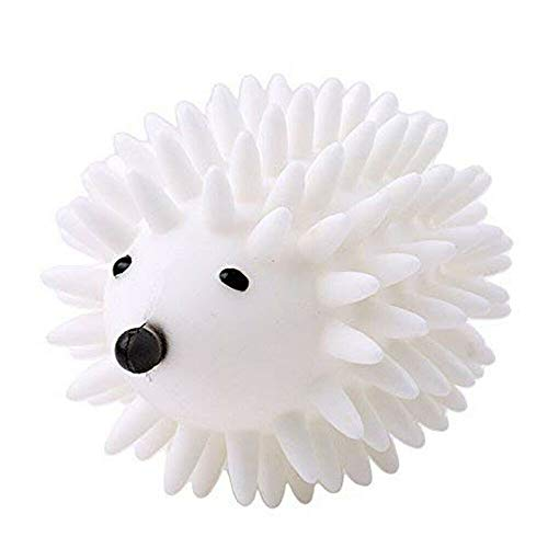 DDELLK Wasbal drogende bal, wasdrogerballen herbruikbare wasmachine ballen mooie egelvorm anti-wikkeling geknoopt schone bal
