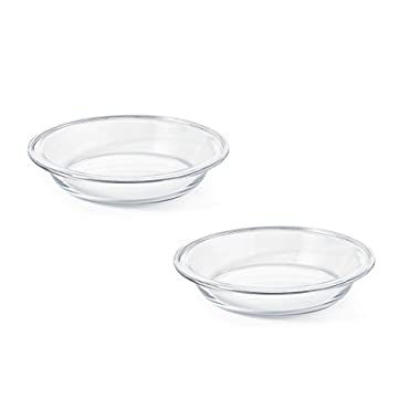 OXO  Good Grips Glass 9  Pie Plate, 2-Pack