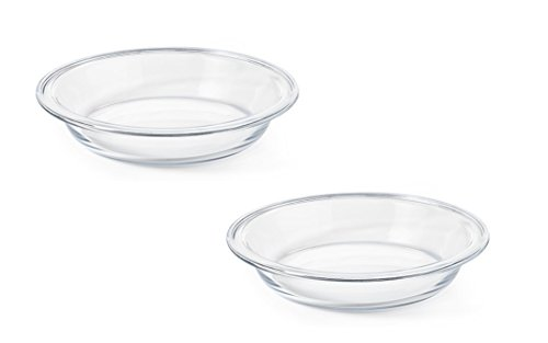 "OXO Good Grips Glass 9"" Pie Plate, 2-Pack"