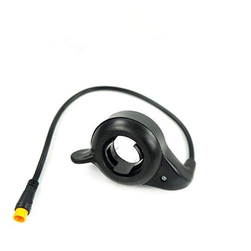 GYLB Wbcmwh 21x Dedo Thumb Thumb Throttle Mano Derecha 3-Pin SM Conector Impermeable Piezas de Bicicleta eléctrica Piezas y Accesorios de Bicicletas (Color : 108X R SM)