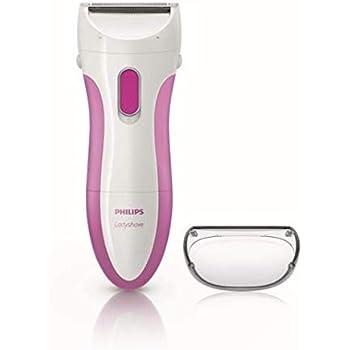 Philips HP6341/00 Ladyshave Rasoio Femminile, Wet&Dry, Bianco/Fucsia