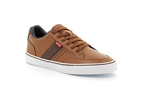 Levi's Turner 2.0, Sneakers Homme, Brown, 43 EU
