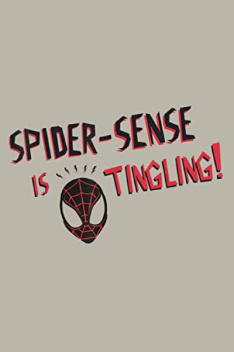 Marvel Spider Man Spider Sense Is Tingling: Notebook Planner - 6x9 inch Daily Planner Journal, To Do List Notebook, Daily Organizer, 114 Pages