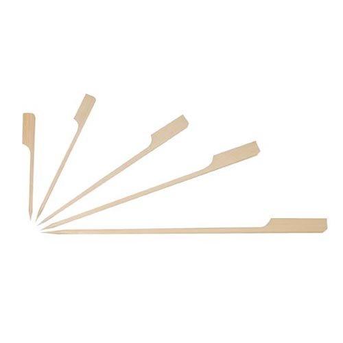 250pezzi bambù Finger Food spiedini Lunghezza circa 9cm e il diametro è di 3mm Bambù è un rapido nachwachsendes prodotto naturale Gastro articolo di qualità gastronomica