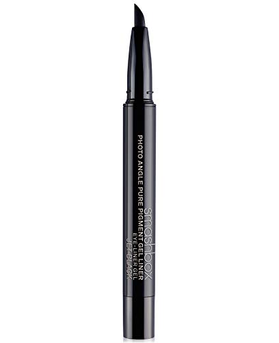Smashbox Photo Angle Pure Pigment Gel Liner, Jet Black, 0.03 Ounce