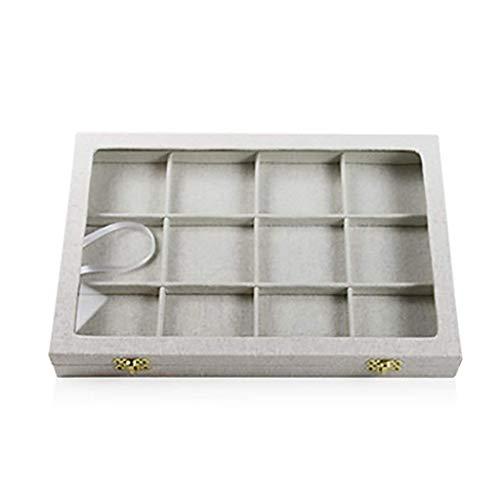 Horloge Opslag Display Box,Sieraden Rack Opslag Plank Multifunctionele Wasbak (Kleur, B),B