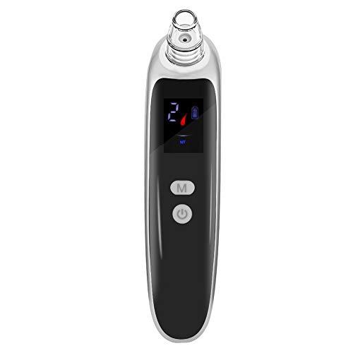 USB Elektrische Mee-eter, Schoonheidsinstrument voor Poriënreiniging met 6 Schoonheidskoppen en 3 Niveaus Van Krachtaanpassing voor Gezichts- en Gezichtsreiniging