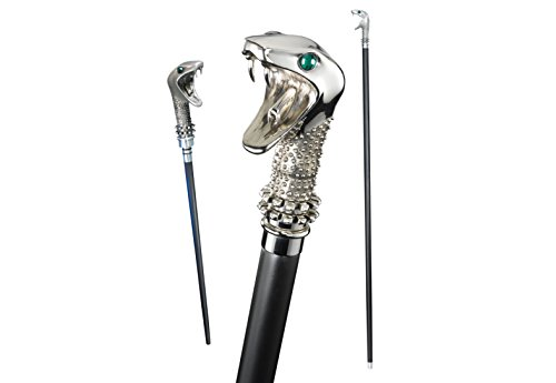 The Noble Collection Lucius Malfoy Cane mit Zauberstab