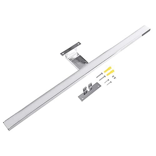 WEARRR Lámpara de Pared de Pared LED Interior Lámpara de Pared 10W 800lm Blanco 60 cm Impermeable Aluminio Iluminación de Aluminio Cuarto de baño Espejo Maquillaje Luz de Maquillaje