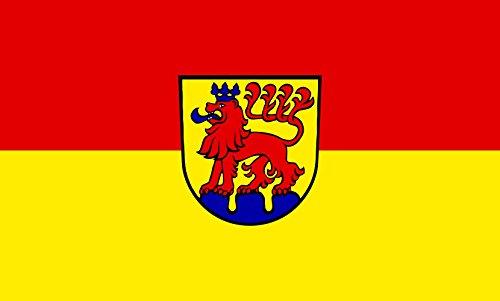 Unbekannt magFlags Tisch-Fahne/Tisch-Flagge: Calw 15x25cm inkl. Tisch-Ständer