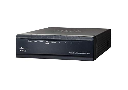 Cisco RV042G-K9-EU Gigabit Dual WAN VPN Router