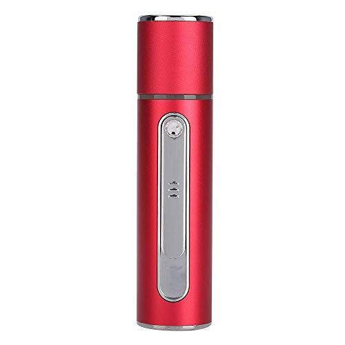 Vapeur visage vaporisateur Froid Mist Pulvérisateur, Nano ionique à vapeur du visage, 20ML Capacité du réservoir d'eau, One-Touch Switch, Mini portable, rechargeable USB, soins de la peau anti-points
