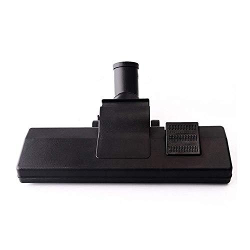 DONGYAO Accesorios universales para aspiradora, boquilla de piso para aspiradora, herramienta de limpieza eficiente de 32 mm (color negro)