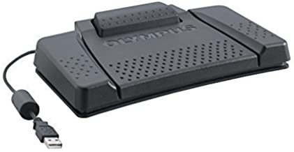 Olympus RS31H Foot Switch for Professional Dictation Systems and USB PC Connection
