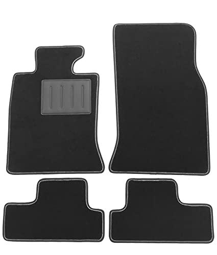 Tappetini MINI COOPER 3 porte 2 serie R55,R56,R57 dal 2007 al 2013 tappeti auto in moquette ,bordo antiscivolo,battitacco in gomma