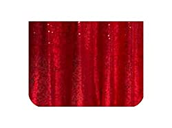Red Sequins Tablecloth