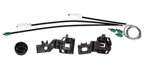 Bossmobil QASHQAI +2 (J10, JJ10), Delantero derecho, kit de reparación de elevalunas eléctricos