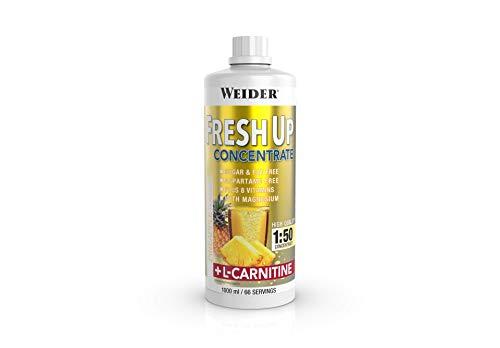 Weider Fresh Up Getränkekonzentrat, Ananas, zuckerfrei mit Vitaminen und Mineralstoffen, 1 Liter