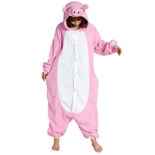 Cerdo Rosa Trajes De Una Pieza Cosplay Pijamas Enteros Adulto Ropa De Dormir Carnaval Camisones Fiesta De Disfraces Halloween Pijamas Navidad Ropa De Casa Mujer