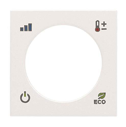 Niessen Zenit–ZENIT Deckel Thermostat KNX weiß