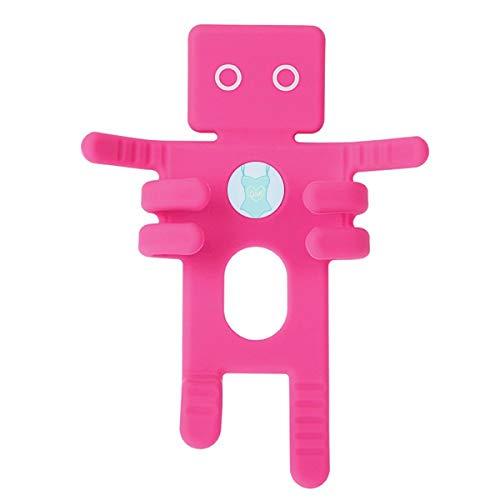 DIYthinker Illustratie Blauw Badpak Roze Telefoon Mount Auto Dashboard Houder Mobiele Telefoon Gift