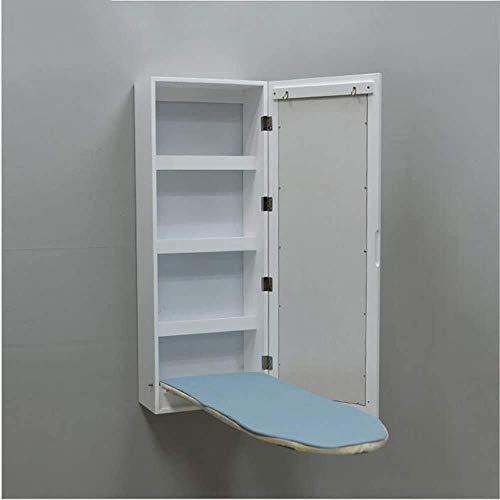 Mesas de decoración de muebles Mesa de centro blanca Mesas auxiliares Mesa para portátil Soporte para tabla de planchar montado en la pared Tabla de planchar en la pared Tabla de planchar plegable
