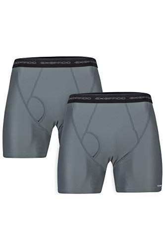 ExOfficio Men's Give-N-Go Boxer Brief, Charcoal, XX-Large