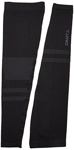 Craft - Gamba da uomo Seamless LEG WARMER 2.0, nero, XL/XXL