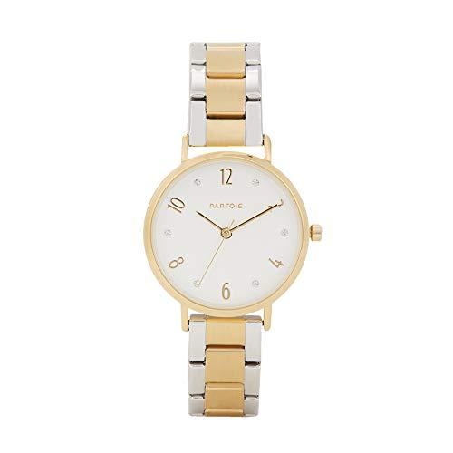 Parfois - Reloj Casual Gold Tray - Mujeres - Tallas Única