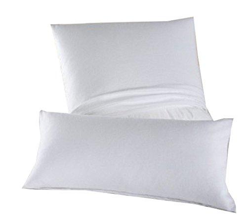 DORMISETTE Feinflanell - Schutzbezug für Kopfkissen in der Größe: 80 x 80 cm von Dormisette / Material: 100% Baumwolle / ACHTUNG: Es handelt sich um einen BEZUG!! - KEIN Kissen!!