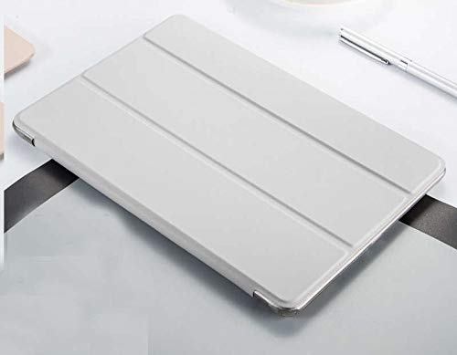 GHC PAD Cases & Covers For iPad Air 9.7'', Utral-Slim Protective Smart Flip Cover Smart Folding TPU Flip Cover for iPad Air 1 A1474 A1475 (Color : White)