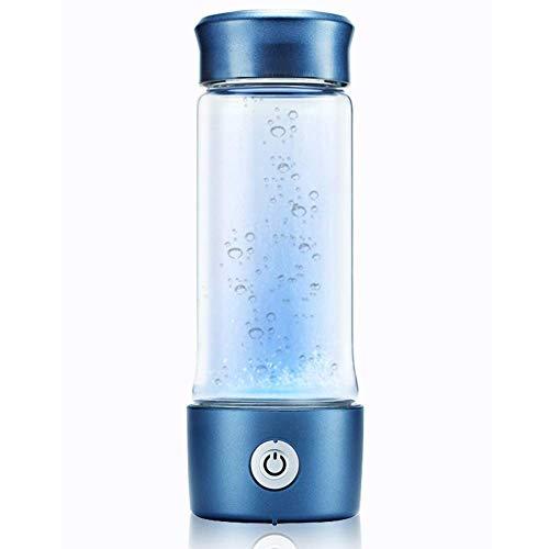 AKAMAS Generador de Agua de hidrógeno, tecnología de Membrana SPE/PEM, Placas de Titanio de Alto Grado, Taza de hidrógeno Molecular portátil Baibao